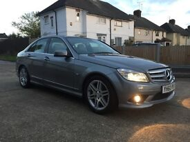 Quick sale. Mercedes c class blue efficiency AMG sport cdi