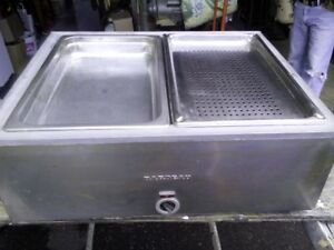 Commercial Steamer, food warmer.