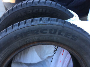 195/60R15 Hercules winter tires, Excellent condition!!!