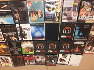 100 DVDs -  various themes