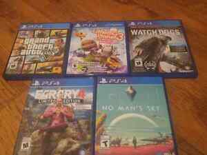 Ps4 games and Turtle Beach headset