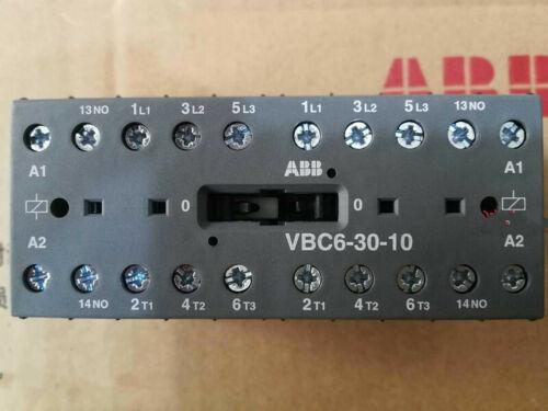 1pc New ABB DC Control Contactor VBC6-30-10 24VDC