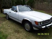 1989 Mercedes-Benz 560 SL-Class prix réduit