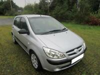 2006 '56' HYUNDAI GETZ 1.4 GSi 5 DOOR HATCH IN SILVER ONE OWNER FROM NEW