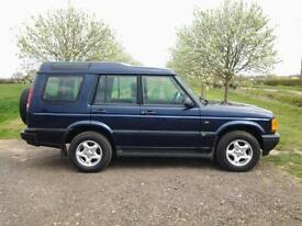 2001 LAND ROVER DISCOVERY 2.5 Td5 ~ 7 SEATS ~ AIR CON ~ IN VGC ~ 4×4 ~ CD PLAYER