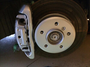 Professional Brake Caliper and Rotor/Hub Painting $100 for set!