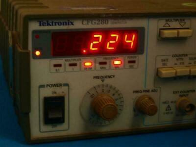 Tektronix Cfg280 11mhz Function Generator Wo Handle
