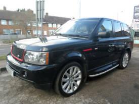 2007 Land Rover Range Rover Sport 2.7TD V6 Auto HSE 5DR 07REG Diesel Black