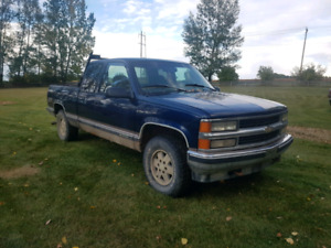 Chevy 1500 4x4 ext cab