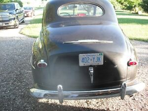 1947 Ford coupe original condition.