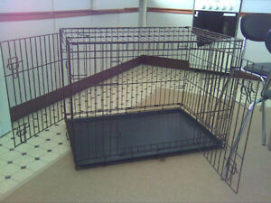 LARGE DOG CAGE ~ EXCELLENT CONDITION