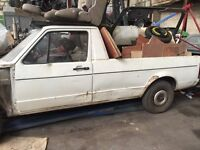 Golf mk1 caddy breaking all parts available can post at cost