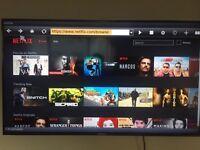 """50"""" Hisense sami smart Tv"""