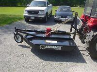 """Bush Hog Razorback RZ-60 60"""" mower"""