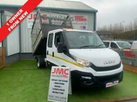 2016 Iveco Daily 2.3 35C13D 130BHP 1 OWNER FROM NEW 7 SEAT CAGED TIPPER CHOICE O