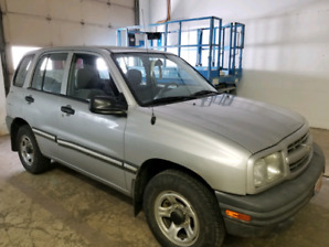 2003 Chevy tracker 4x4