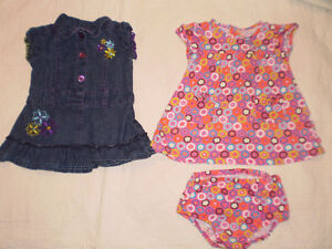 24 pieces of size 9-12 month girls clothing
