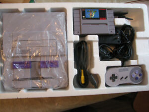 SUPER NINTENDO SYSTEMS IN BOXES
