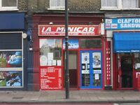 FOR SALE - MINICAB OFFICE - UPPER CLAPTON ROAD - HACKNEY
