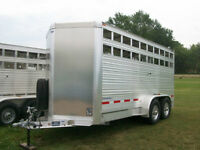 Eby Livestock trailers for sale