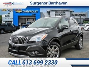 2016 Buick Encore Leather  All Wheel Drive-Nav System-Sunroof-$2