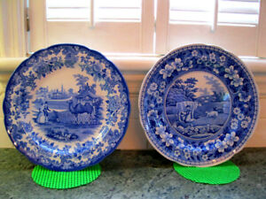 Assiettes de collection The Blue room collection SPODE ENGLAND