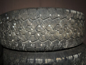 Goodyear Wrangler AT/S  LT275/65R18  4 tires $175.00