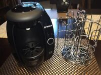 Tassimo Brewing Machine with Chrome Rack $35