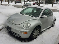 2005 Volkswagen Beetle Coupe with 179,000 KMs