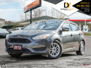 2015 FORD FOCUS HATCHBACK SE FLEX FUEL | CERTIFIED | WARRANTY!
