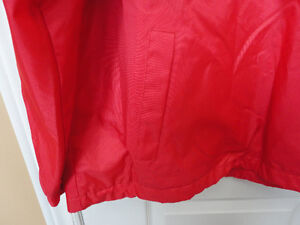 Steve and Barry's red fleece lined winter jacket hockey clothing London Ontario image 7