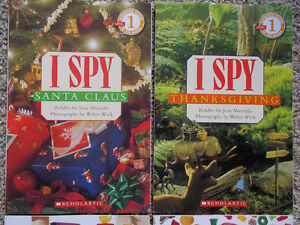"4 ""I SPY"" books-find hidden items-Scholastic London Ontario image 2"