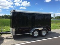 Sharp looking 6-12 tandem trailer.