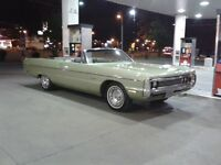 plymouth fury 111 convertible