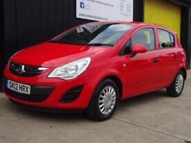 2012 (12) Vauxhall Corsa 1.3CDTi 16v ecoFLEX S 5dr Diesel £20 road tax