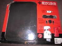 Swiss Computer/Tablet Sleeve + Charging Set - brand new, in Pac