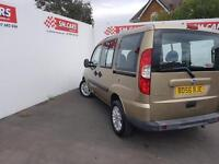 2007 56 FIAT DOBLO 1.9 MULTIJET 105 DYNAMIC.FULL SH.2 KEYS.FULL MOT,SUPERB MPV .