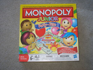 Child's Monopoly game