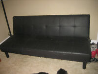 Faux Leather Pull-Out