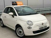 FIAT 500 POP 1.2 PETROL-WHITE-*LOW MILES*-V.GOOD COND-*LONG MOT*-WARRANTY INC!!