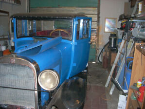 1927 Dodge Brothers Sedan with fast four