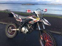 Yamaha wr 125r 2012
