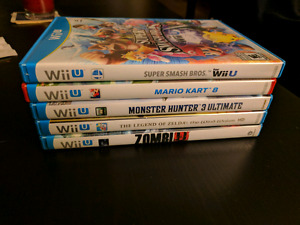 Wii u games and GameCube adapter