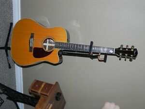 FENDER acoustic/electric guitar with authentication certificate
