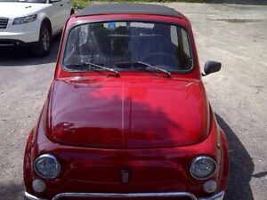 Fiat L Ferrari red ( on hold)