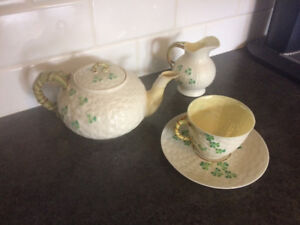 Belleek tea set