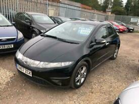 Honda Civic 2.2i-CTDi ( lth ) ( 17in Alloys ) SE MILEAGE-103158,Tax£150 P/Y,
