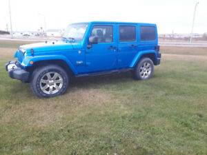 2015 Sahara Wrangler Unlimited Jeep for sale
