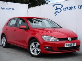 2015 15 Volkswagen GOLF MATCH TDI DSG Automatic Diesel for sale in AYRSHIRE