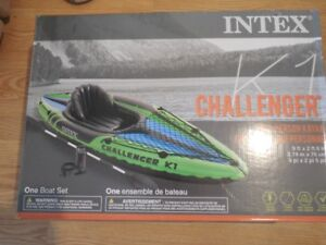 Challenger 1 Person Kayak , 9 ft - Long by 2 ft wide- 6 inches e